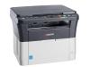 Многофункциональное устройство Kyocera FS-1020MFP, A4, печать лазерная черно-белая, 20 стр/мин ч/б, 1800x600 dpi, подача: 250 лист., вывод: 100 лист., память: 64 Мб, USB, ЖК-панель